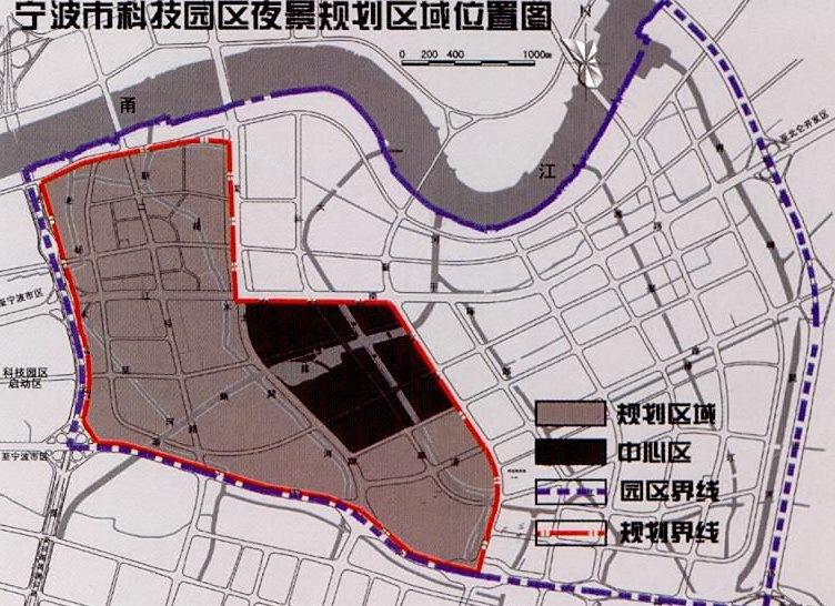 宁波科技园区夜景照明总体规划第16张图片
