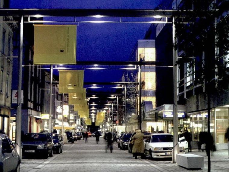 德国内卡河畔爱斯林根市的班郝夫大街第1张图片