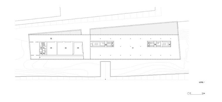 平面图02 plan 02-阿尔卡特总部第32张图片