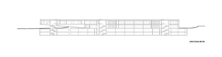 剖面图 section-阿尔卡特总部第33张图片