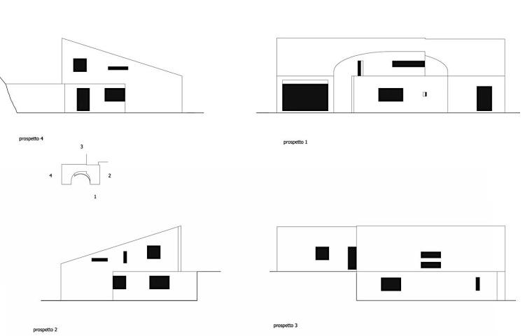 立面图 Elevations-单一家庭住宅第20张图片