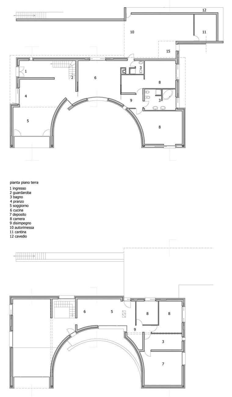 平面图 Plans-单一家庭住宅第22张图片