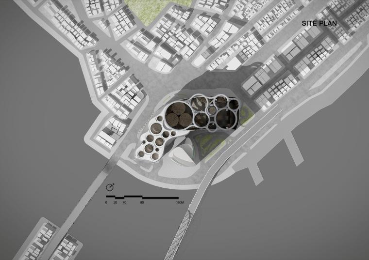 位置平面图 site plan-乐天百货公司楼顶花园第26张图片