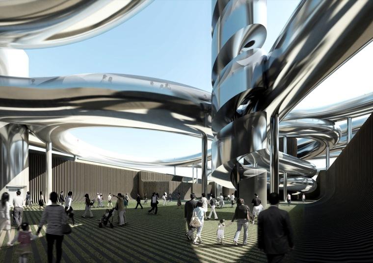 渲染02 rendering02-乐天百货公司楼顶花园第28张图片