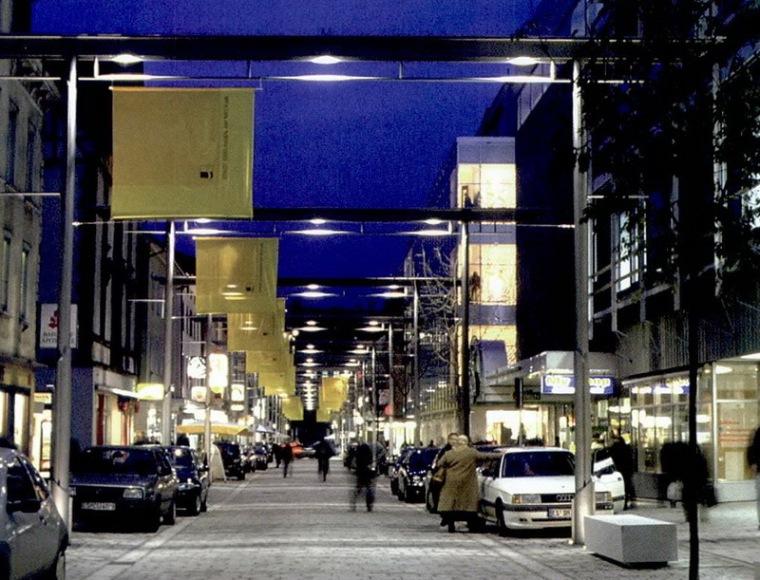 德国内卡河畔爱斯林根市的班郝夫大街第2张图片
