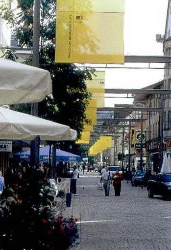 德国内卡河畔爱斯林根市的班郝夫大街第5张图片