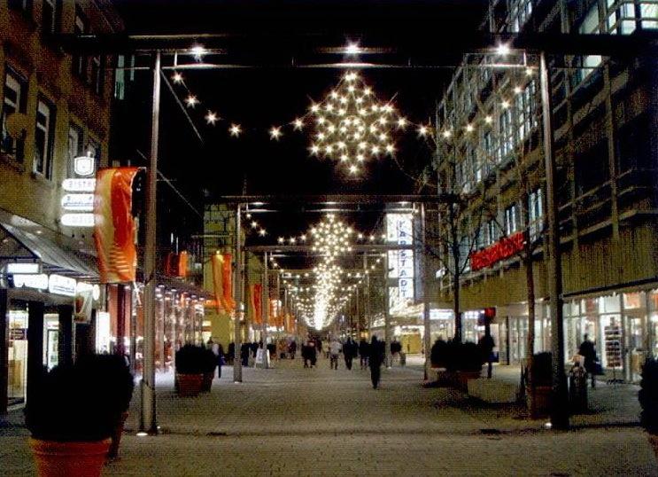 德国内卡河畔爱斯林根市的班郝夫大街第7张图片