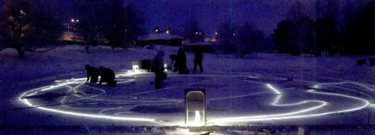 芬兰拉普兰的北极圈艺术展第6张图片