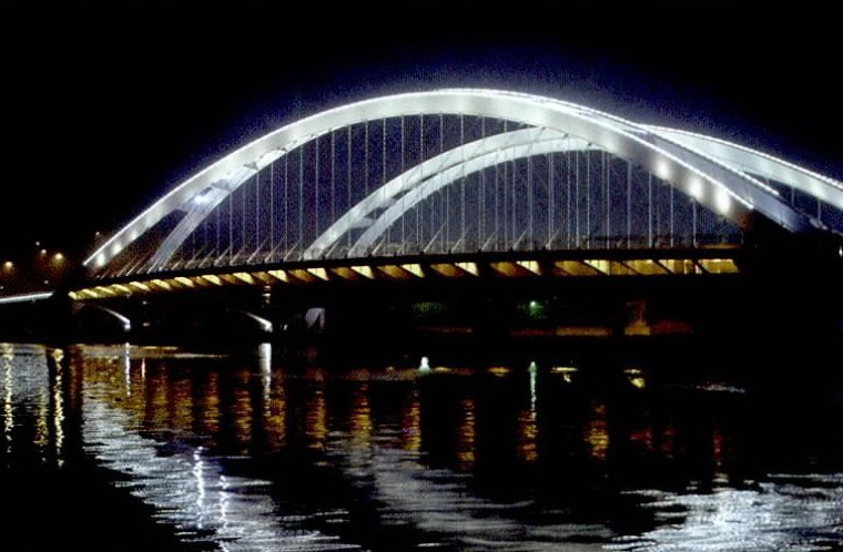 玉峰大桥景观照明设计第8张图片