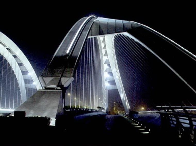 玉峰大桥景观照明设计第9张图片