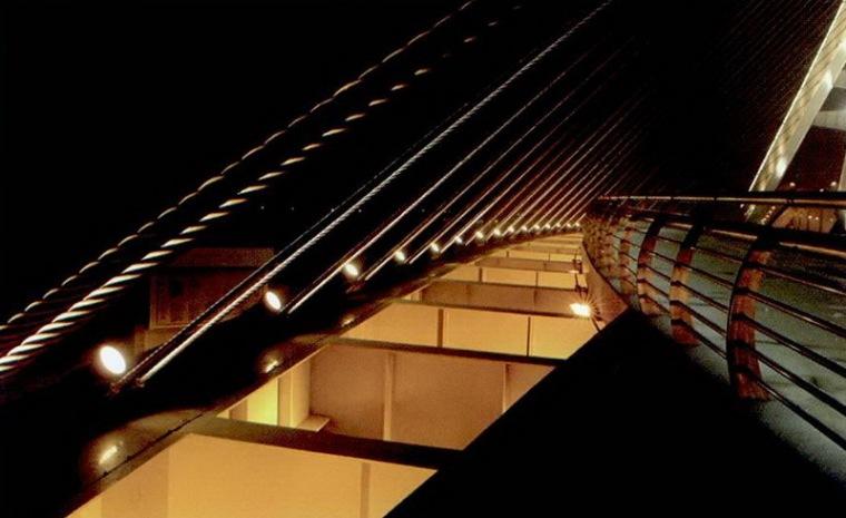 玉峰大桥景观照明设计第10张图片