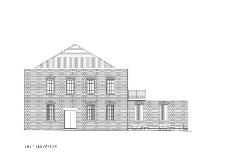 东立面图 East Elevation-建筑工作室第18张图片