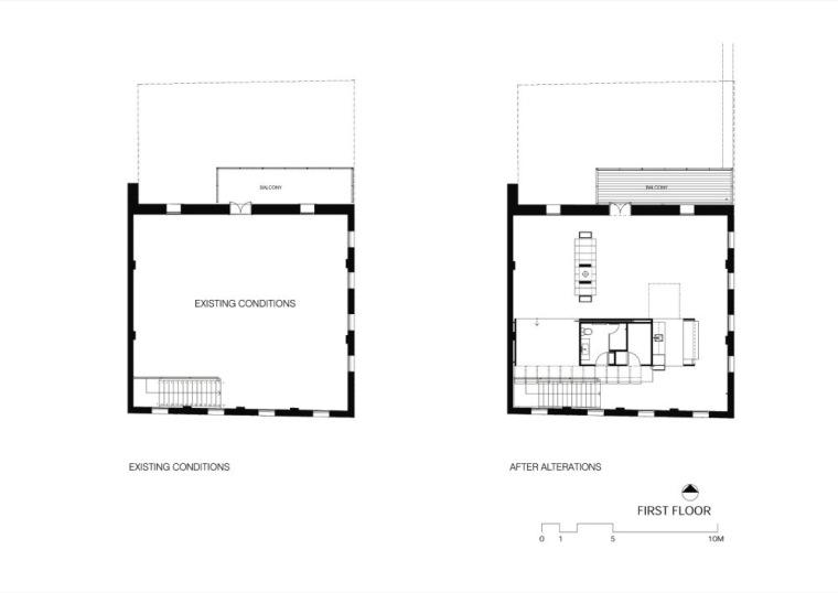 原二层平面图和现二层平面图 Fir-建筑工作室第19张图片