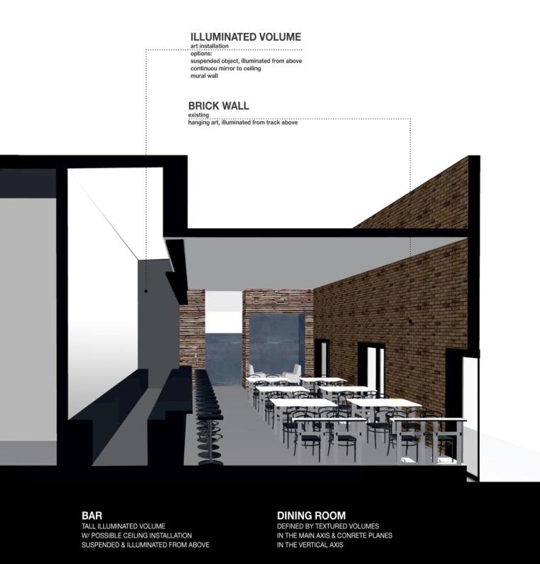 剖面图02 section02-创意联盟咖啡店第13张图片