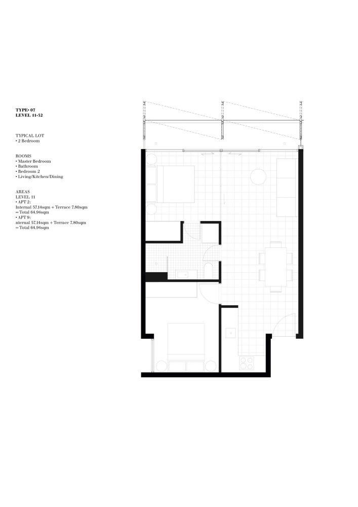 平面图01 Plan01-A'Beckett大厦第9张图片