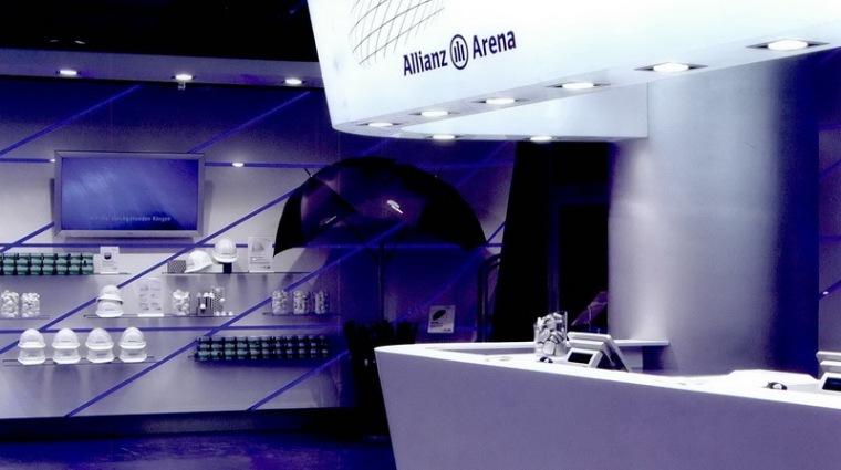 安联体育场的纪念品商店第2张图片