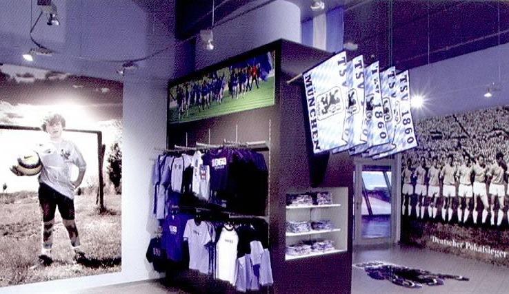 安联体育场的纪念品商店第5张图片