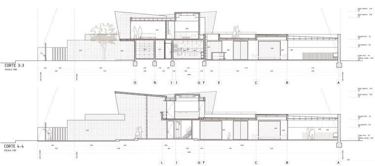 剖面图01 Sections01-三元素住宅第20张图片