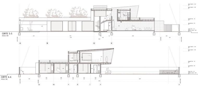 剖面图02 Sections02-三元素住宅第21张图片