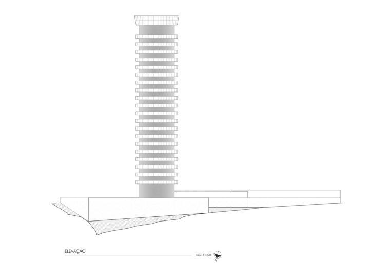 立面图 Elevation-Zodiaco公园住宅楼第10张图片