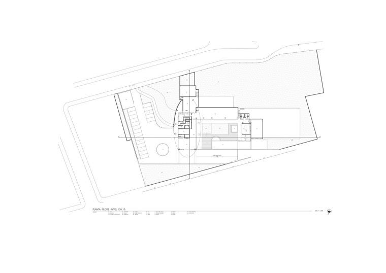 平面图01 Plan01-Zodiaco公园住宅楼第11张图片