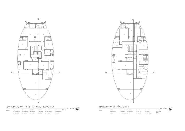 平面图02 Plan02-Zodiaco公园住宅楼第12张图片