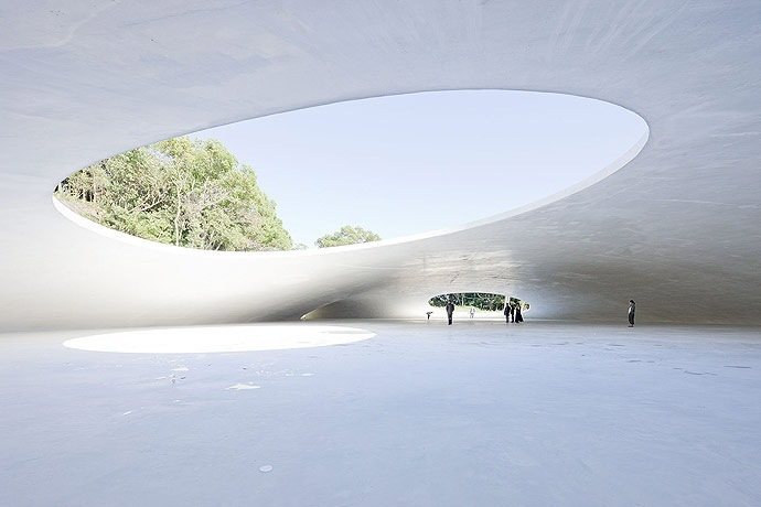 Teshima艺术博物馆第7张图片