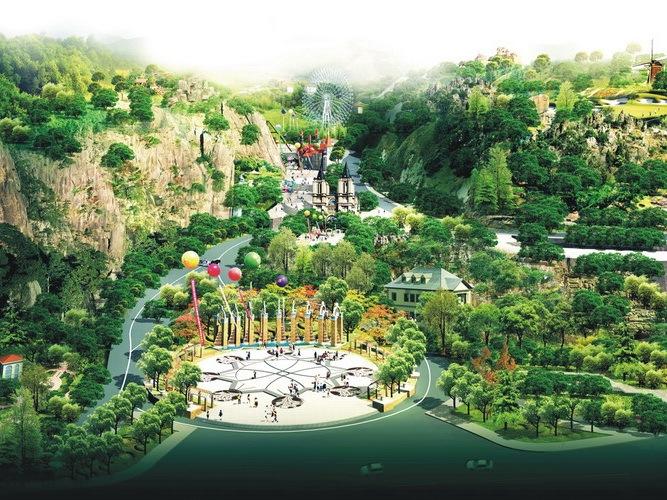 昆明翠峰城市生态公园景观规划第1张图片