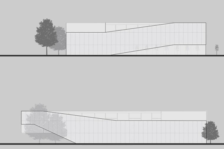 立面图01 elevation 01-Quarter文化中心第10张图片