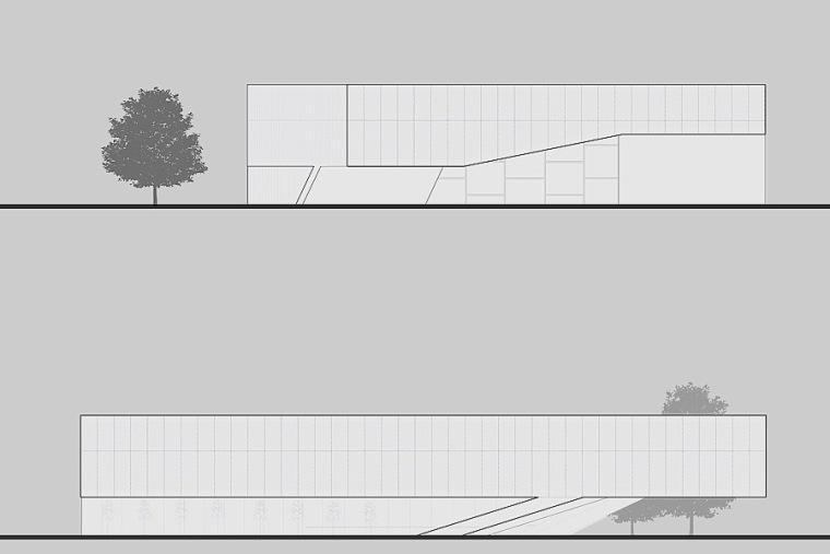 立面图02 elevation 02-Quarter文化中心第11张图片