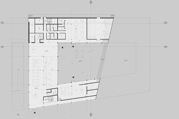 平面图01 plan 01-Quarter文化中心第12张图片