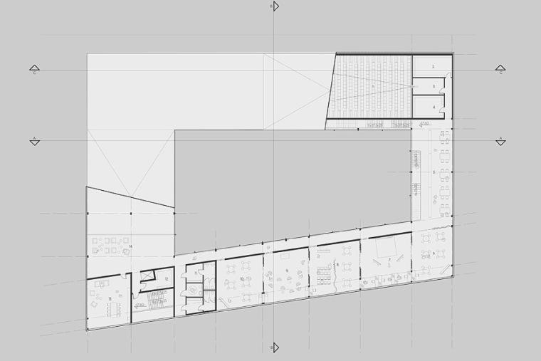 平面图03 plan 03-Quarter文化中心第14张图片