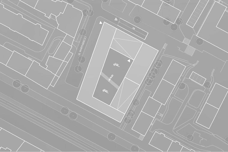 位置平面图 site plan-Quarter文化中心第18张图片