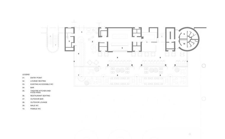 平面图01 Plan01-Barbican餐厅第37张图片