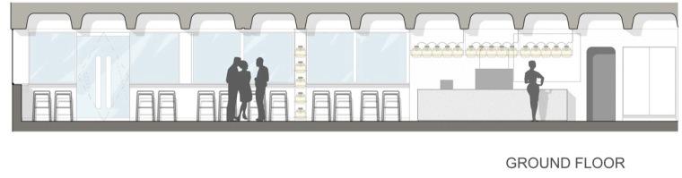 首层立面图 Ground Elevations-Barbican餐厅第39张图片