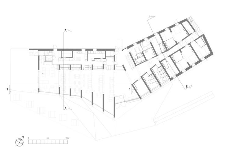 平面图02 Floor Plan02-Pulpit Rock旅舍第11张图片