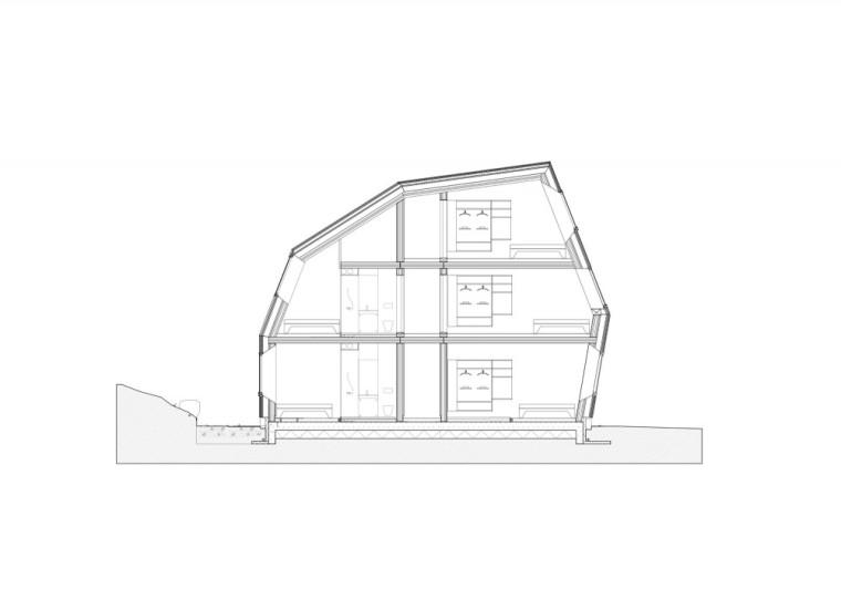 剖面图02 Section02-Pulpit Rock旅舍第14张图片