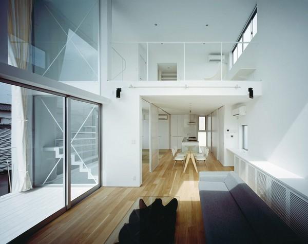 1-日本现代简约派住宅第2张图片