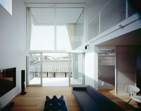 2-日本现代简约派住宅第3张图片