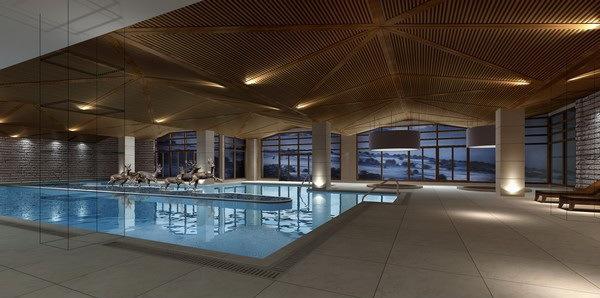 泳池-万达长白山假日酒店第8张图片
