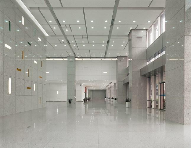 主塔楼大堂-深圳招商海运中心第3张图片