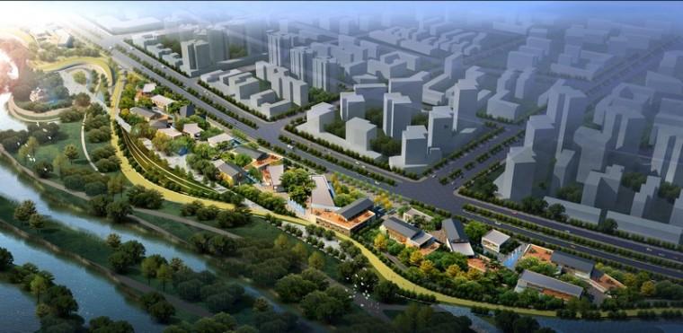 汉中市滨江新区绿地公园景观设计第3张图片