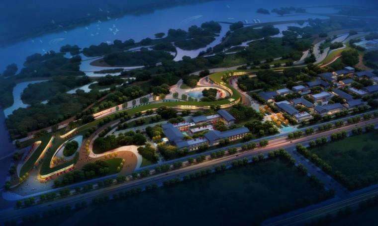 汉中市滨江新区绿地公园景观设计第4张图片