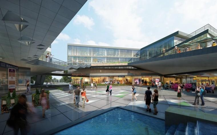 商业景观-遂宁时尚商业区第5张图片