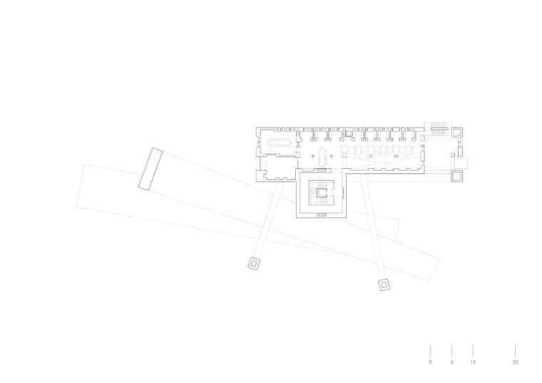 二层平面图 First Floor Plan-IAA图书馆第14张图片