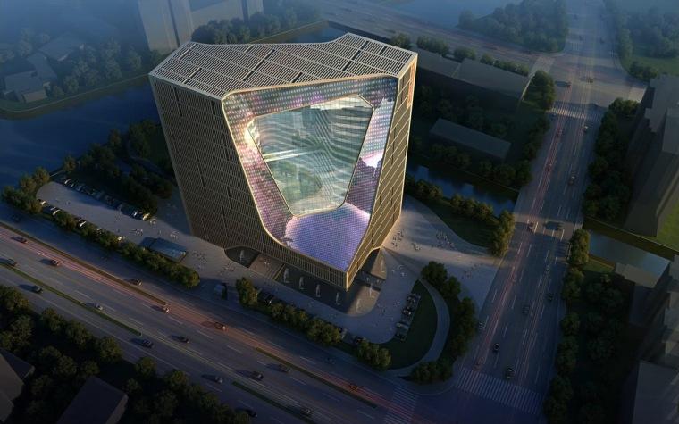 宁波数字媒体办公大楼第2张图片