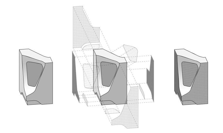 表皮图表 Facade Diagram-宁波数字媒体办公大楼第11张图片