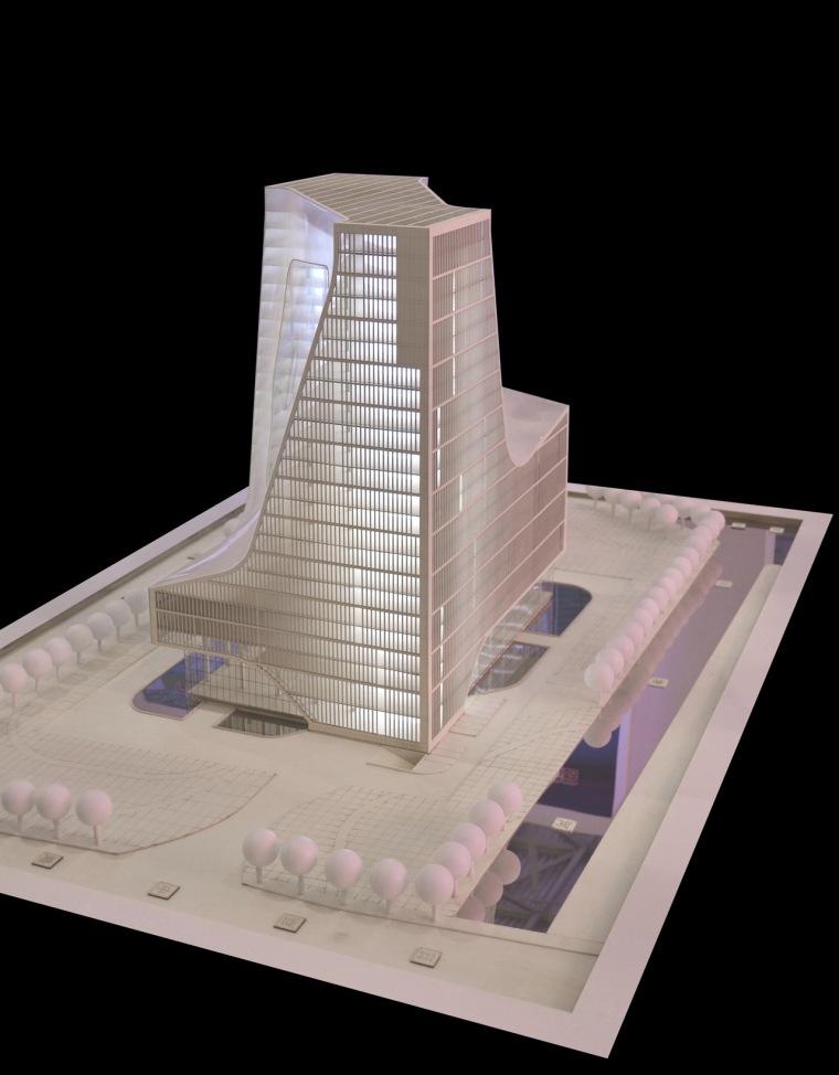 物理模型04 Physical Model04-宁波数字媒体办公大楼第20张图片