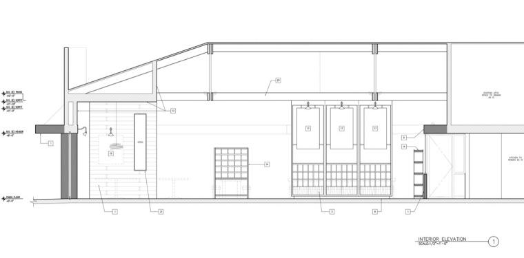 剖面图02 section02-曼哈顿海岸邮局餐厅第18张图片