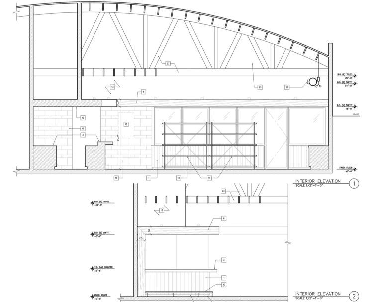 剖面图03 section03-曼哈顿海岸邮局餐厅第19张图片